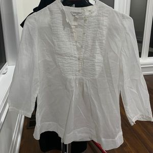 White banana republic top